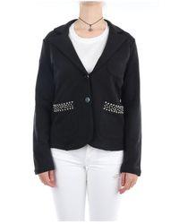 Sun 68 F31205 Short jacket - Nero