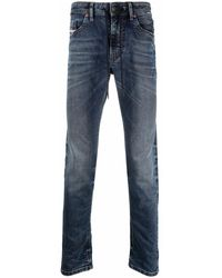 DIESEL - Mid-Rise Skinny Jeans - Lyst