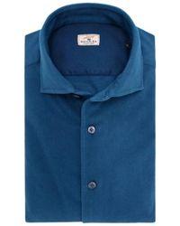 Sonrisa Camisa - Blauw