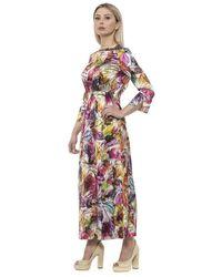 Alpha Studio V A R. U N I C A Dress - Rose