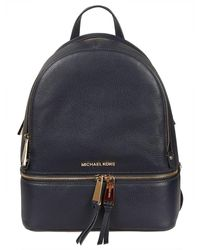 Michael Kors Rhea Zip Backpack - Blauw