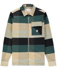 Kultivate Checkerz Mojave Shirt - Groen