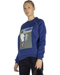 Plan C Sweatshirt - Bleu