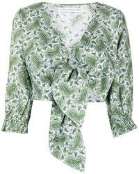 Faithfull The Brand Jacinta Top - Groen