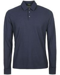 Incotex T-shirts and Polo - Bleu
