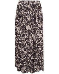 Étoile Isabel Marant Patterned Trousers - Zwart