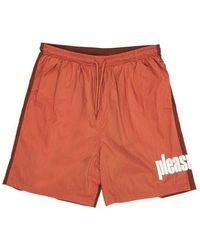 Pleasures Shorts Electic Active - Rood