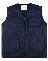Soulland Clay Vest - Blau