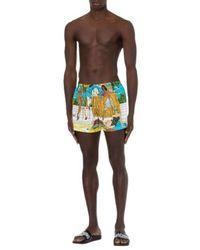 Moschino Costume da bangno beach - Giallo