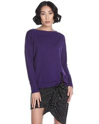 Relish Bollywood Pullover - Paars