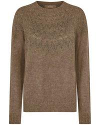 Mos Mosh Sidsel knitwear 139660 - Marrón