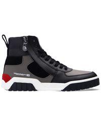 DIESEL S-rua Mid Sneakers - Grijs