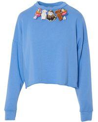 Motel Sweater - Blauw