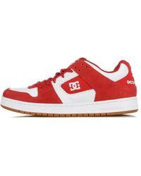 DC Shoes Scarpa Bassa Manteca - Rood