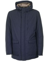 Herno - Jacket with hood - Lyst