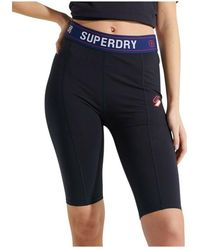 Superdry Sportstyle Essential Cycling Shorts - Nero