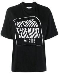 Opening Ceremony T-shirt - Zwart