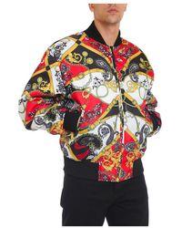 Versace Baroque Bomber Jacket - Zwart