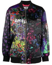 DIESEL Jacket - Zwart