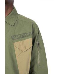 Maharishi Utility 2.0 tech overshirt Verde