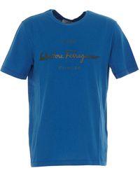 Ferragamo - T-shirt - Lyst