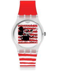 Swatch Watch Ur - Gz352 - Rood