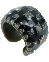Chanel Vintage Ring - Noir