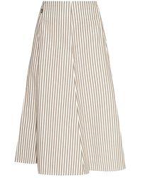 Woolrich Ribbed Skirt - Grijs