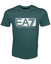 EA7 Armani Ea7 T-shirt 3gpt62 Pj03z - Groen