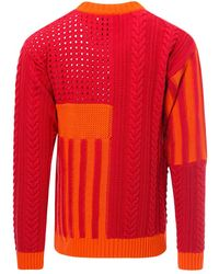 Koche Knitwear Sk2gp0002s17496 - Rood