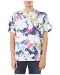 Moschino - T-Shirt Girocollo - Lyst