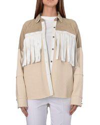 Giorgio Brato Leather Jacket - Naturel