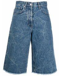 Dries Van Noten 212-012406-3381 shorts - Azul