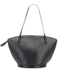 Louis Vuitton Epi Saint Jacques PM Short Strap Leather - Nero