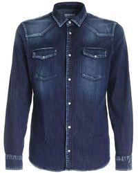 Dondup - Denim Shirt - Lyst