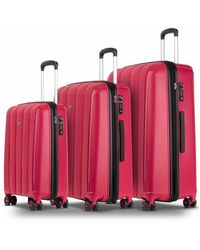 Conwood Pacifica suitcase set S + M + L - Rot