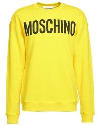 Moschino Felpa A1718 2027 11 - Giallo