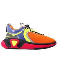 Balmain Sneakers with logo - Orange