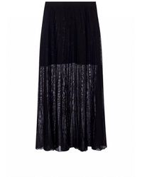 Sonia Rykiel Skirt with pleats - Nero