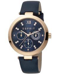 Esprit Es1l213l0035 Florine Watch - Blauw