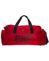 EA7 Fitness Gym Sports Bag - Rood