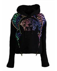 Versace Medusa Hoodie - Zwart