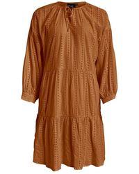 Object 3/4 Dress - Oranje