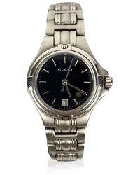 Gucci Stainless Steel Mod 9040 L Wrist Watch Dial - Grijs