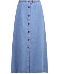 A.P.C. Denim Skirt - Blauw
