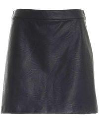 Paolo Fiorillo Capri Short Skirt - Nero