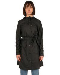 Rains Coat - Zwart