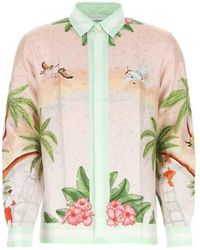 CASABLANCA Shirt - Roze