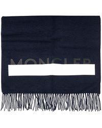 Moncler - Écharpe Logo - Lyst