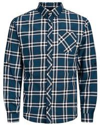 Jack & Jones Button-down Overhemd - Blauw
